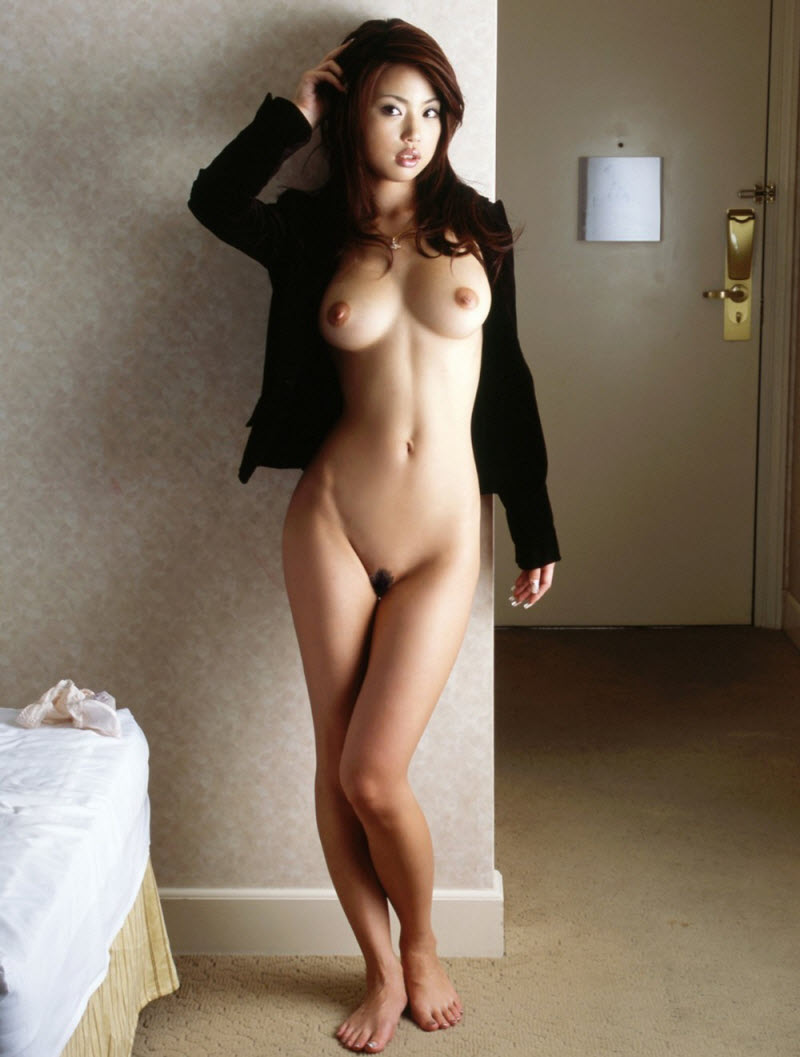 American asian nude self shot