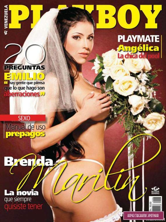 Голая Brenda Marilin - Playboy August 2012  Venezuela