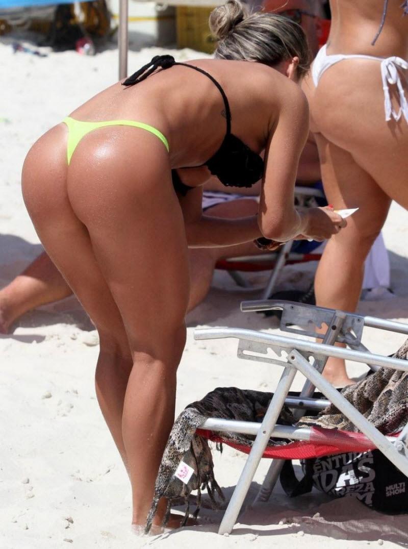 Секс на пляже с качком снимает любительское