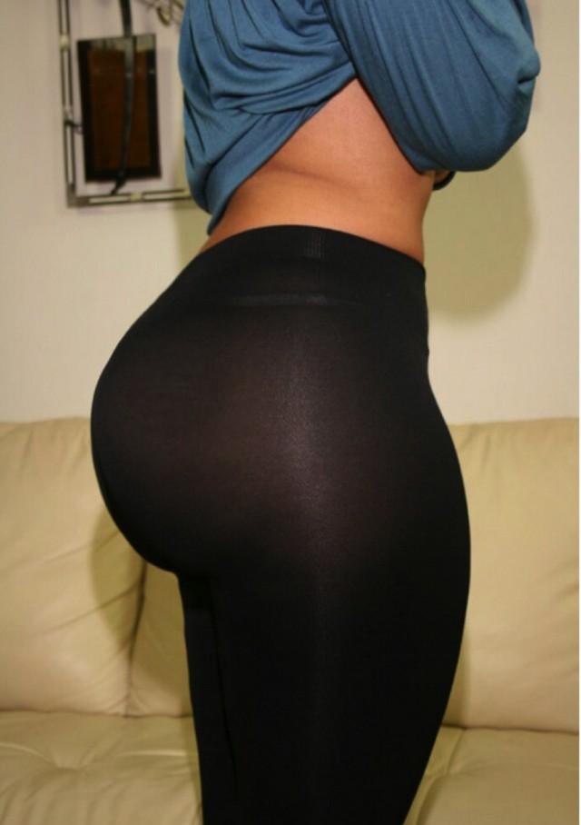 Женская толстая попа в лосинах фото — img 6