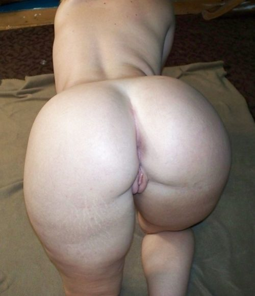 Пышные жопы толстых голых баб раком фото