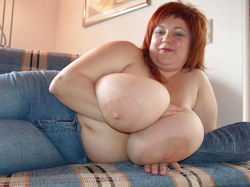 Большие сиськи толстушки #8
