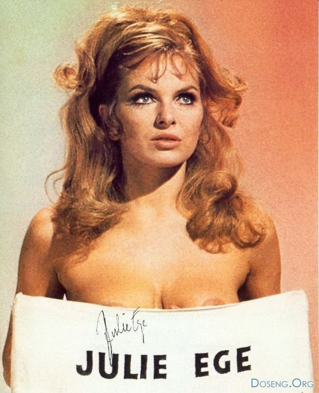 Sex kitten julie ege was the new raquel welch this hammer glamour queen had the mutations too