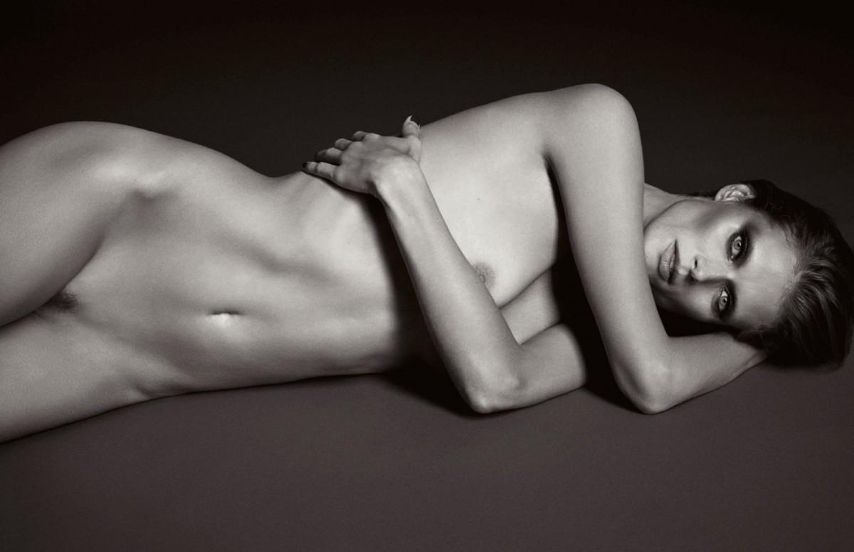 Implied Nude Modelling Portfolio In The Studio