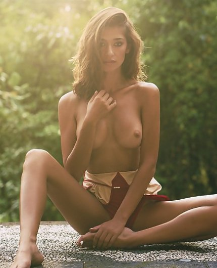 Raluca Cojocaru Sweet Paradise By Playboy