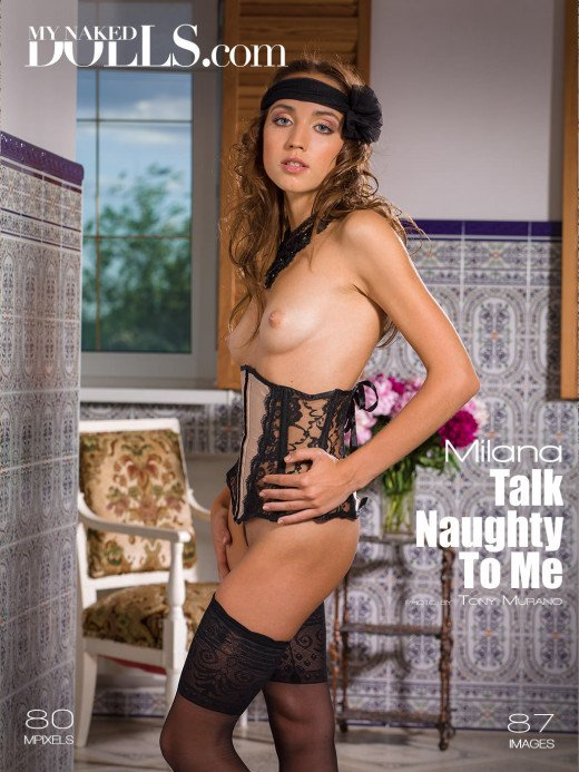 Milana Talk Naughty To Me By My Naked Dolls